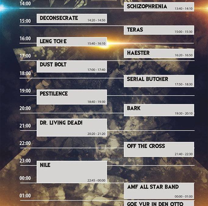 Antwerp Metal Fest 2018, zaterdag 30 juni: Het Verslag