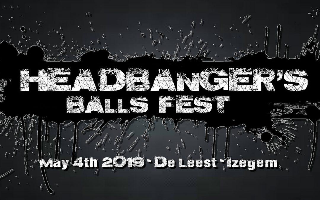De voorlaatste naam voor Headbanger's Balls Fest