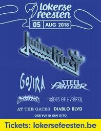 Het verslag van de metaldag van de Lokerse Feesten 2018!