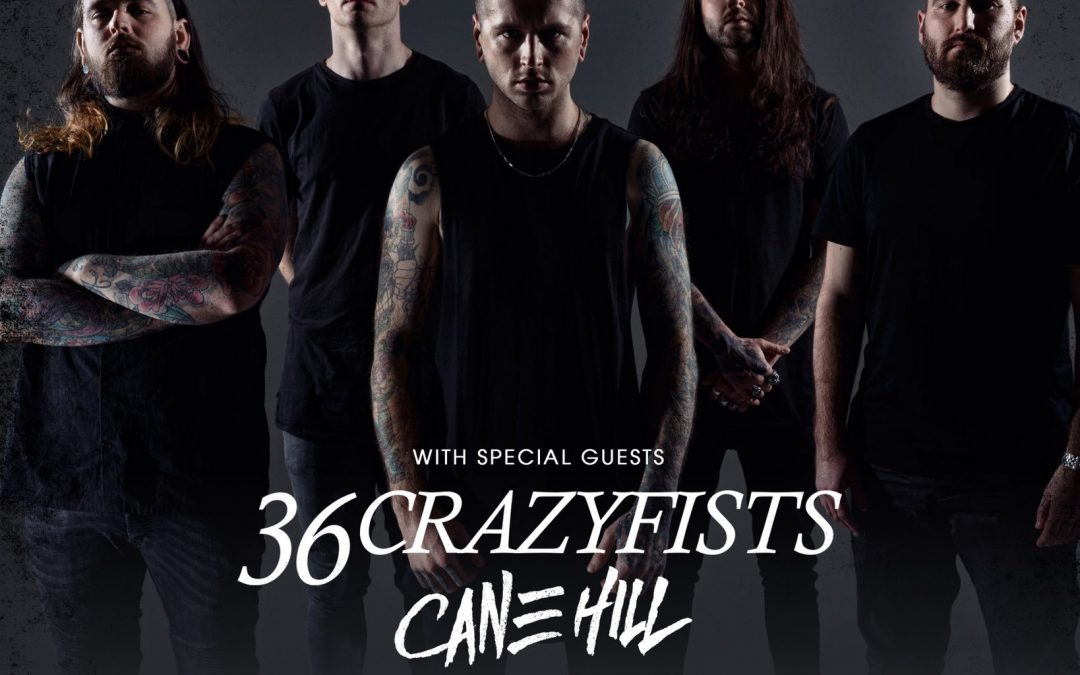 Bury Tomorrow + 36 Crazyfists + Cane Hill + Crystal Lake – Effenaar – 23/11/2018