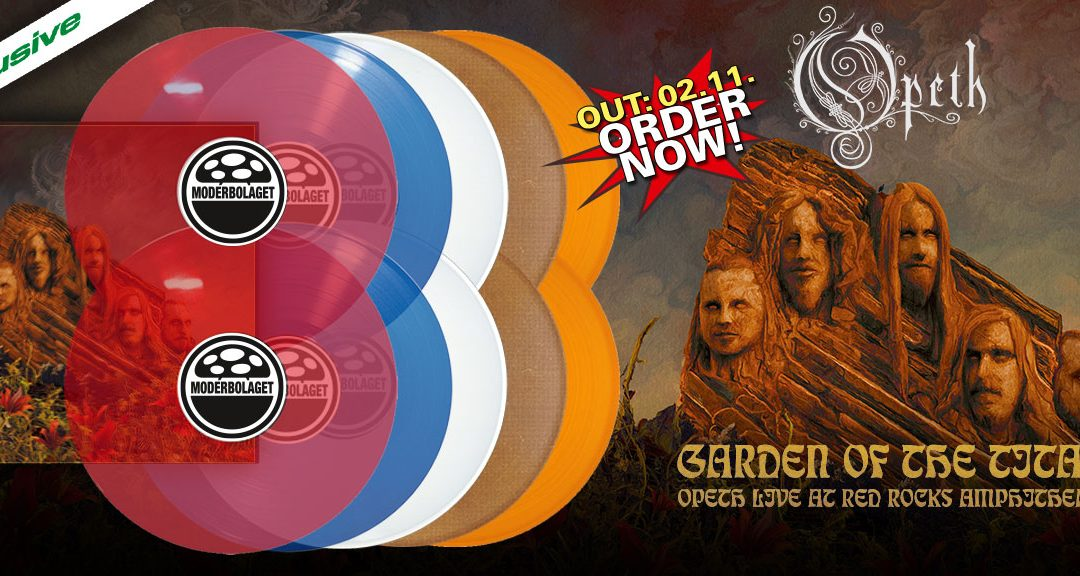 Opeth – Garden Of The Titans – Live At Red Rocks Amphitheatre dvd/BluRay