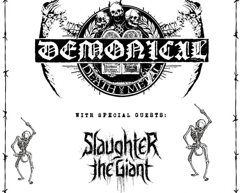 Demonical + Slaughter The Giant / @ Den Elpee, Deinze / 12 december 2018