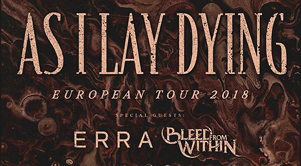 As I Lay Dying is back on track en bewees dat in het Tilburgse 013