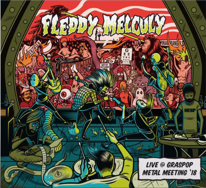 Fleddy Melculy – Live @ Graspop Metal Meeting '18