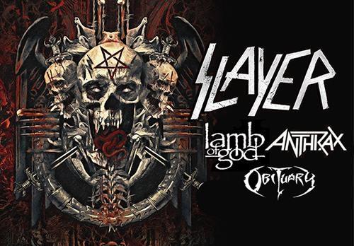 Slayer, Lamb of God en Anthrax vanuit het voormalige Oost-Duitsland