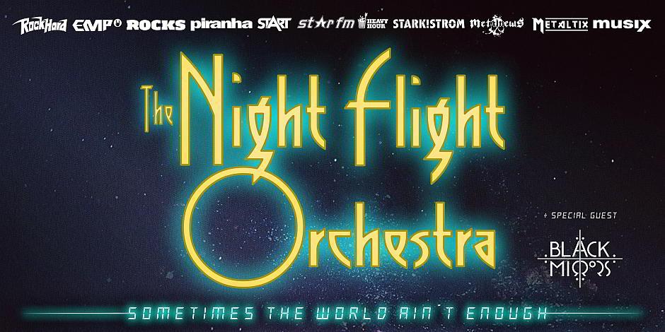Flashback veertig jaar terug met The Night Flight Orchestra @ Biebob – Vosselaar
