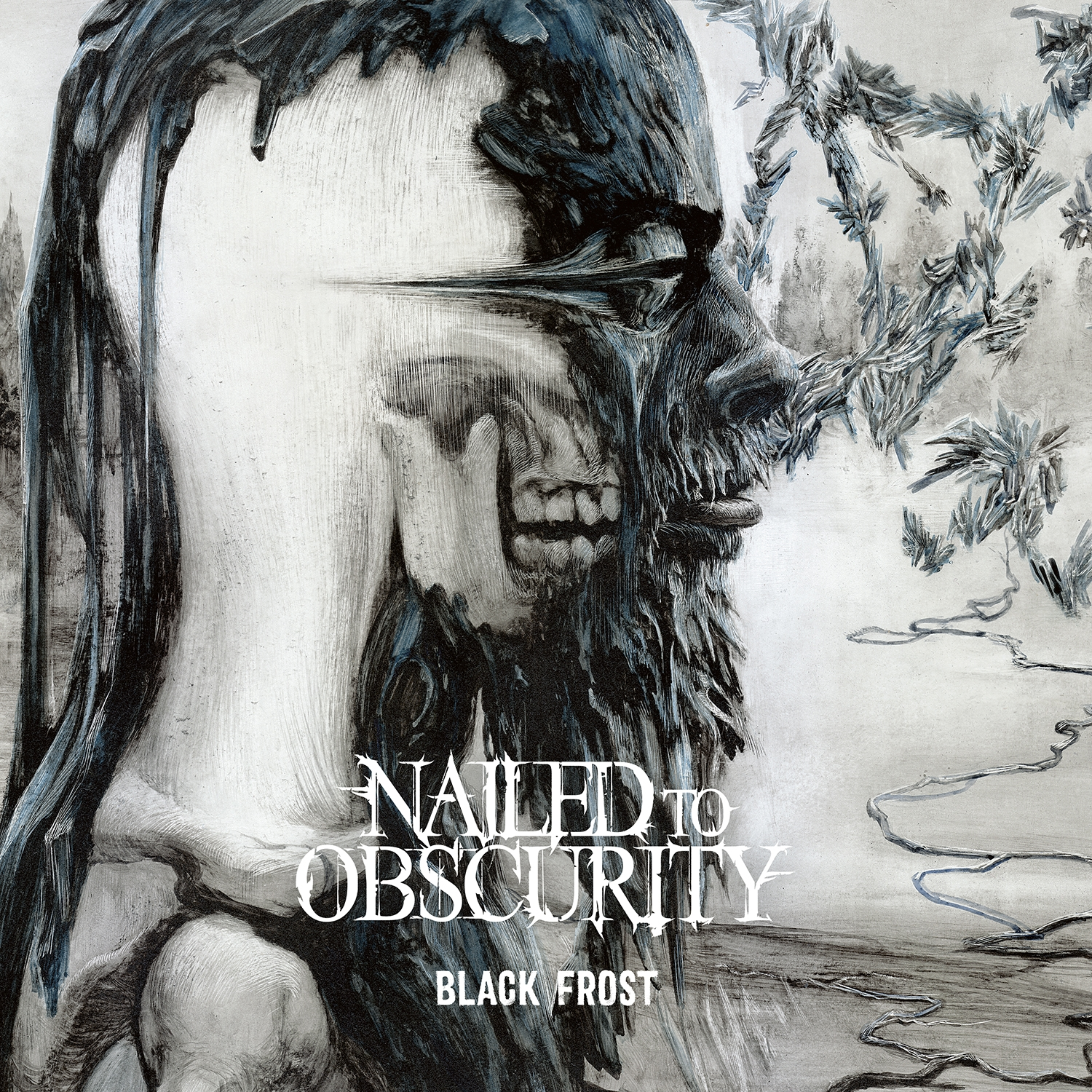 Nailed To Obscurity - Black Frost - Artwork