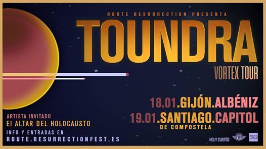 Toundra @ Teatro Albéniz – Gijón – Asturias – ES