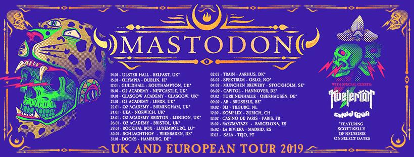 Mastodon en Kvelertak laten niemand onberoerd in 013