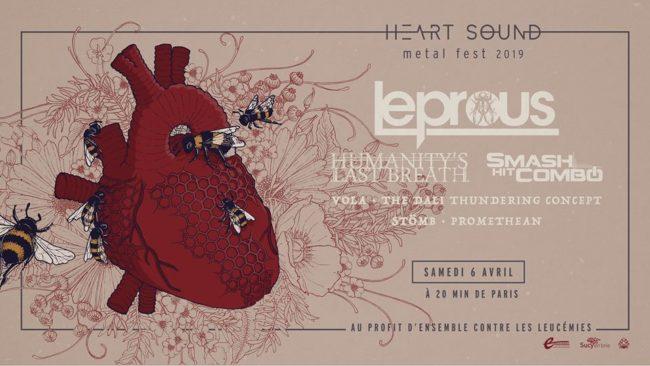 Heart Sound Metal Fest, het Parijse extreme & prog metal festival voor een goed doel