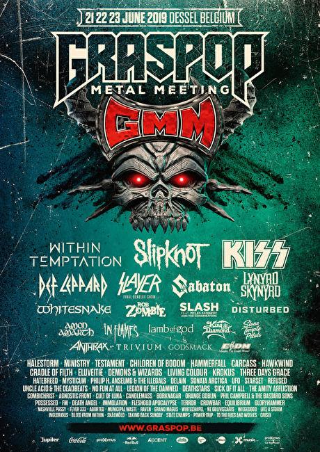 Graspop Metal Meeting 2019: diversiteit kleurt de zaterdag!