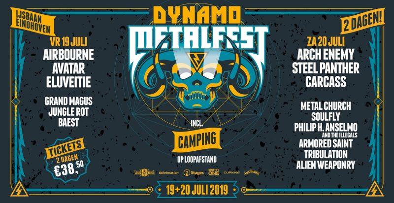Dynamo Metalfest @ IJssportcentrum – Eindhoven – NL