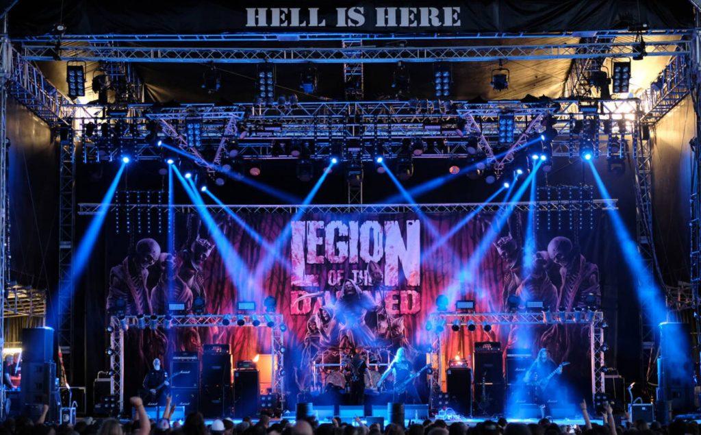 Legion Of The Damned. Foto Mario Gallash.