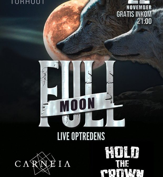 Carneia & Hold The Crown @ Full Moon Metal & Rock Pop-Up Bar – Torhout