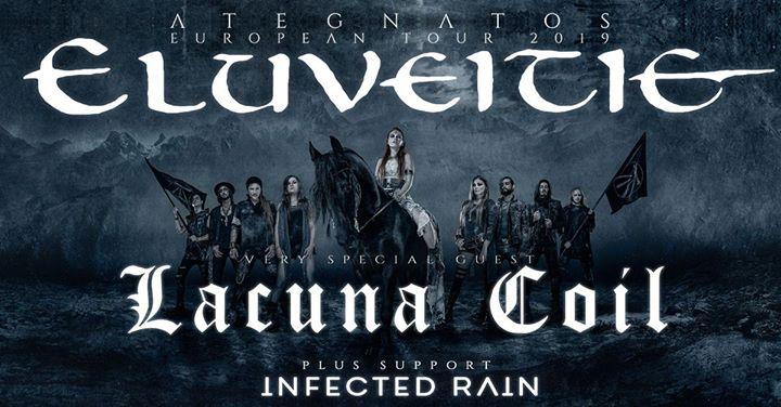 Lacuna Coil & Eluveitie @ Trix – Antwerpen
