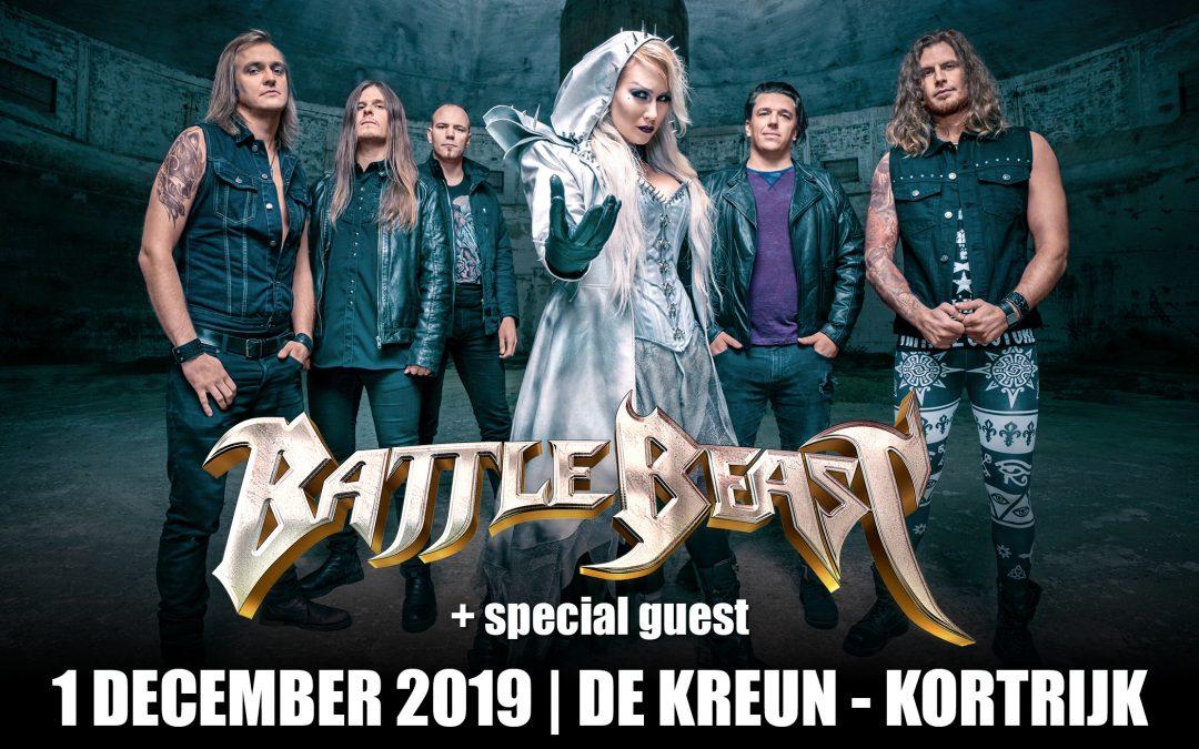 Battle Beast + Cyhra @ Wilde Westen, Kortrijk / 1-12-2019