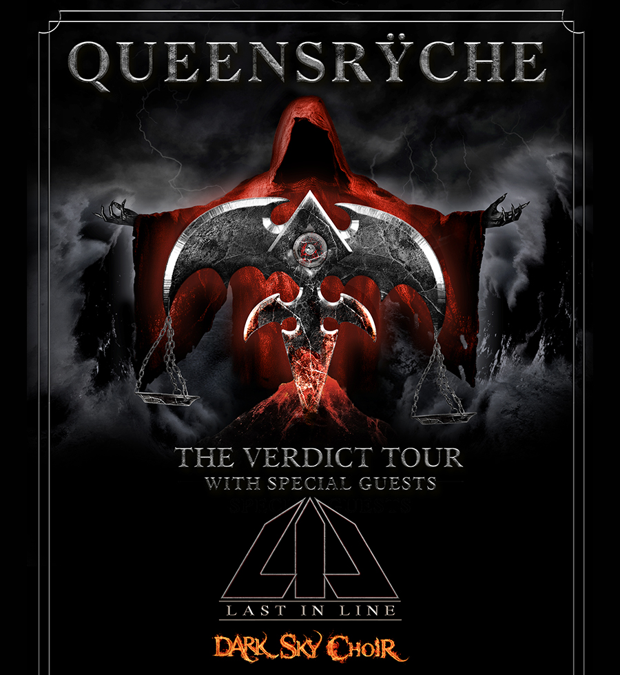 Queensrÿche + Last In Line + Dark Sky Choir @ Trix