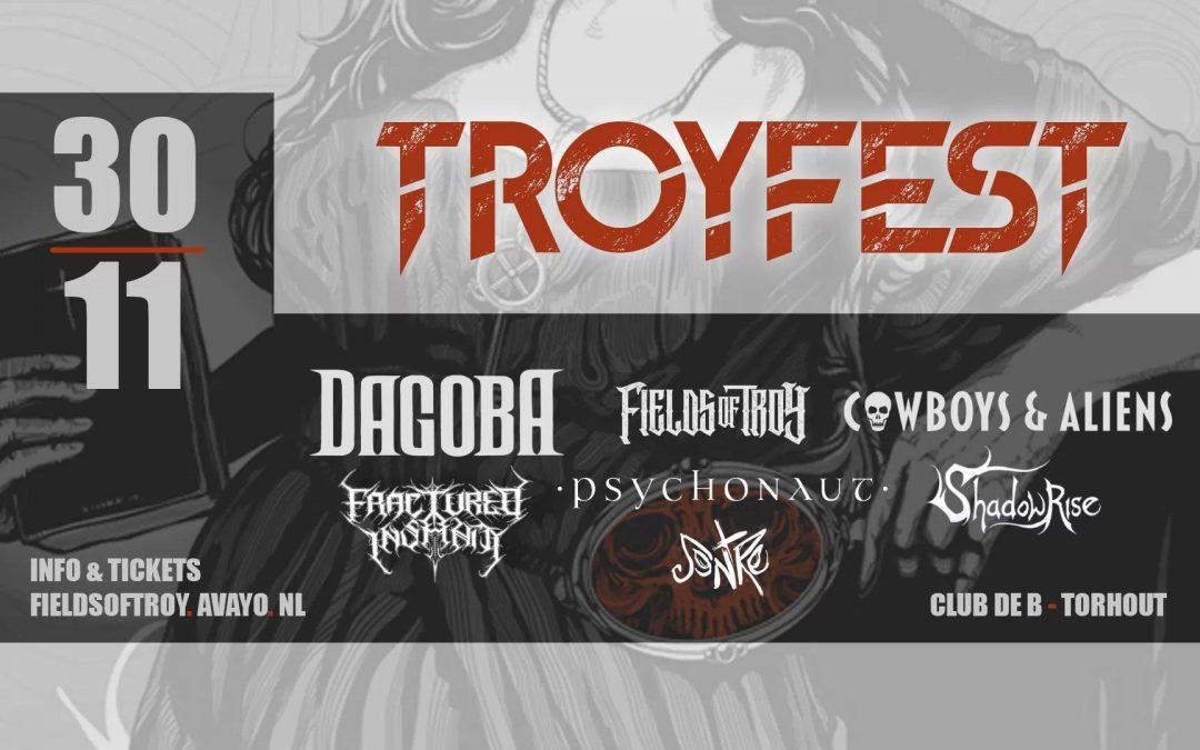 Troyfest – 30 november – Club de B, Torhout