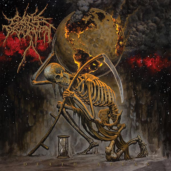 Cattle Decapitation - Death Atlas (2019) - album cover