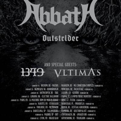 Abbath + Vltimas + 1349+ Nuclear / Trix / 26-01-2020