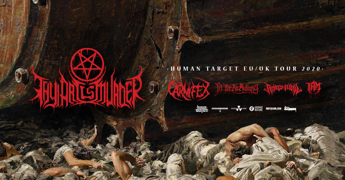 Deathcore galore met Thy Art Is Murder, Carnifex, Fit For An Autopsy, Rivers of Nihil & I AM @ 013 – Tilburg