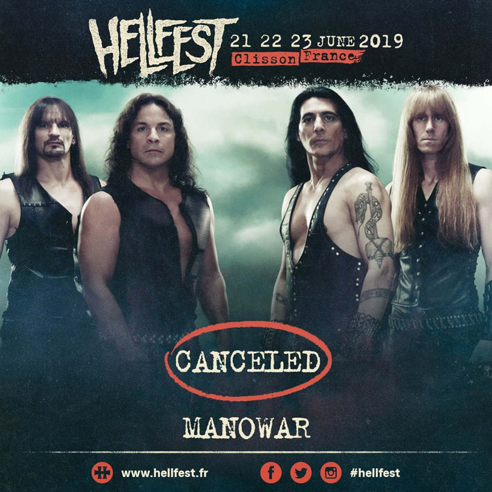 Manowar - Hellfest Open Air 2019