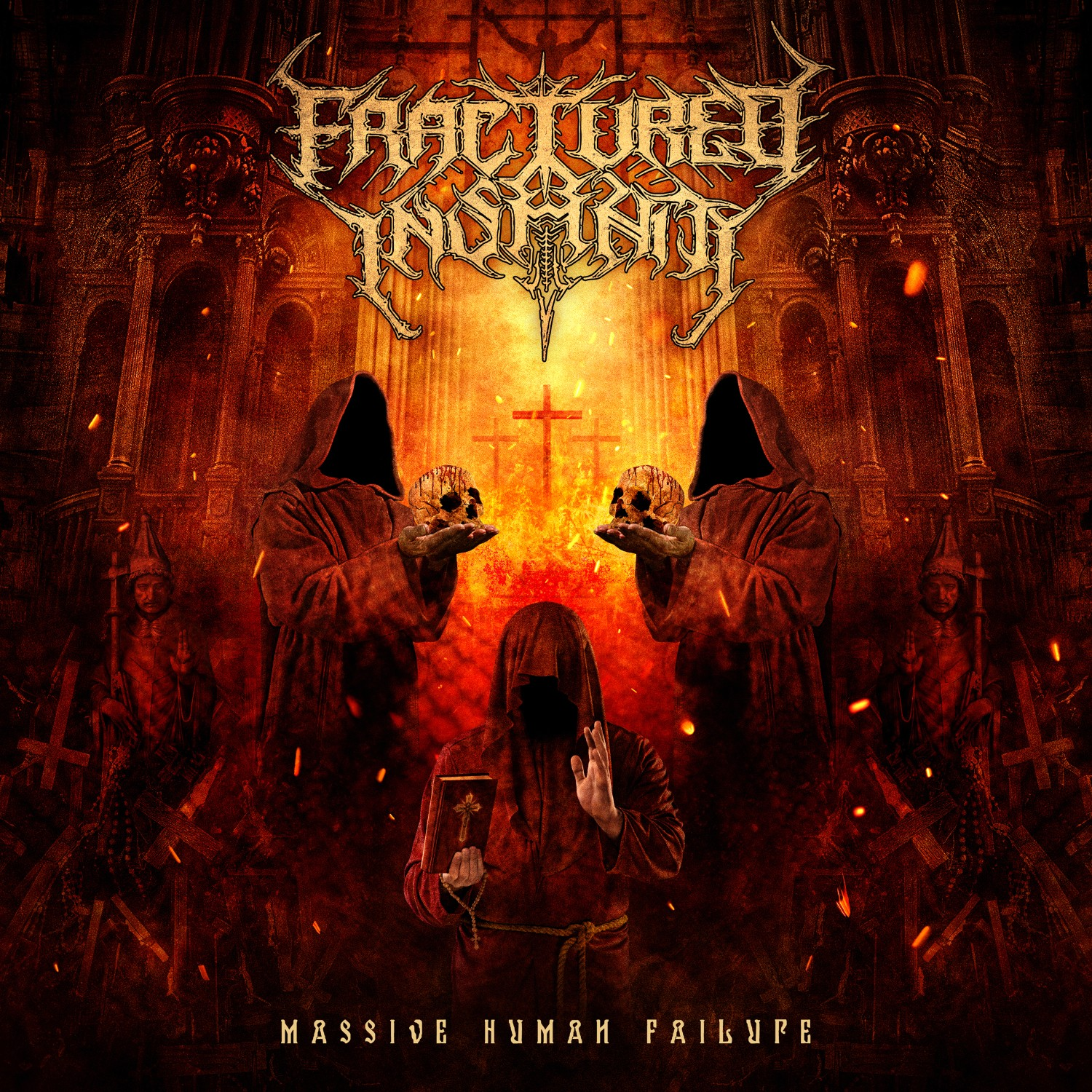 Fractured Insanity - Massive Human Failure coverart 2020
