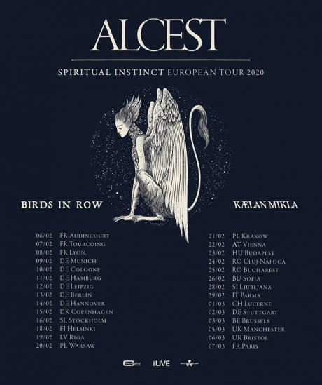 Alcest + Birds In Row + Kaelen Mikla / Botanique / 03-03-2020