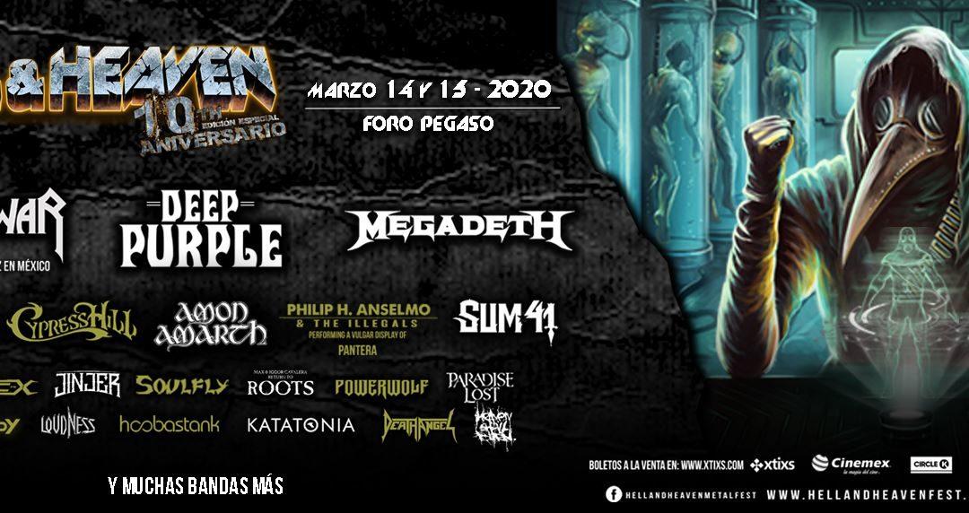 Hell & Heaven 2020 (Toluca, Mexico) – Deel 1: misschien wel het laatste grote metalfestival van het jaar