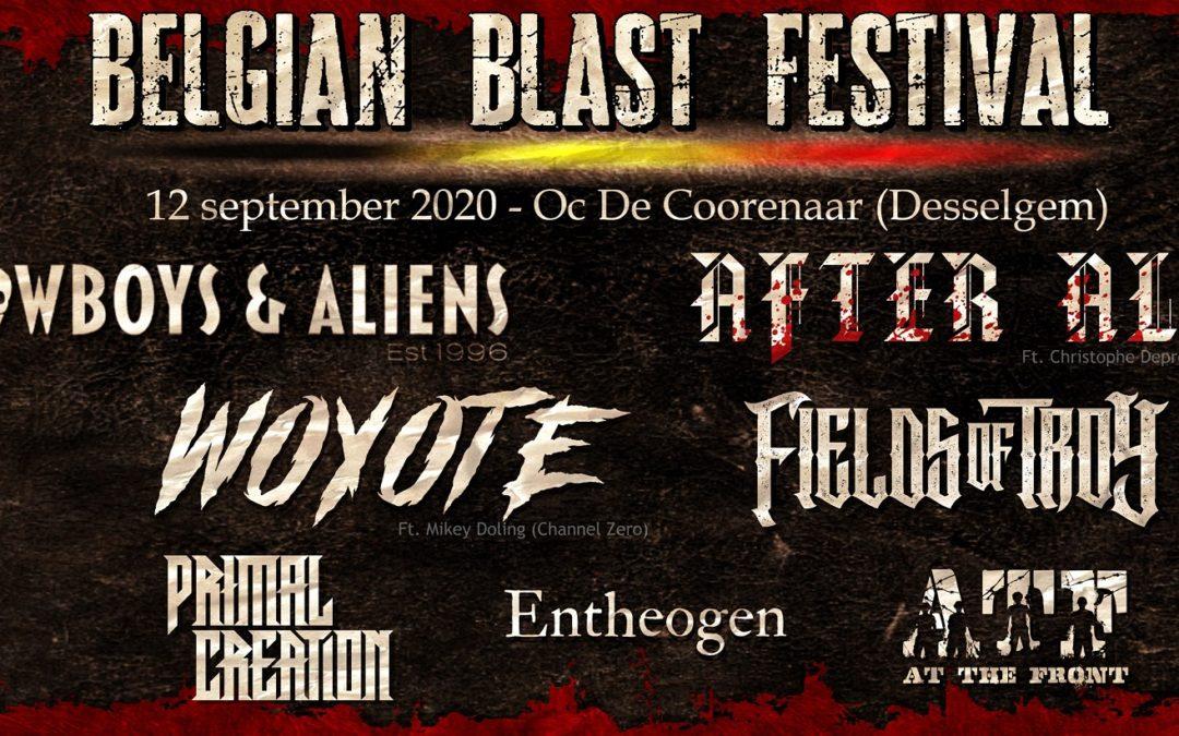 Belgian Blast Festival finaliseert de line-up