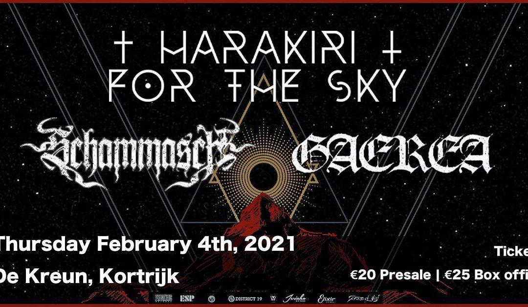 Concertnieuws: Harakiri For The Sky komt naar De Kreun (Kortrijk)