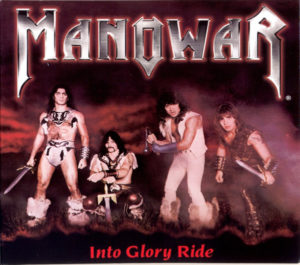 Manowar - Into Glory Ride line-up