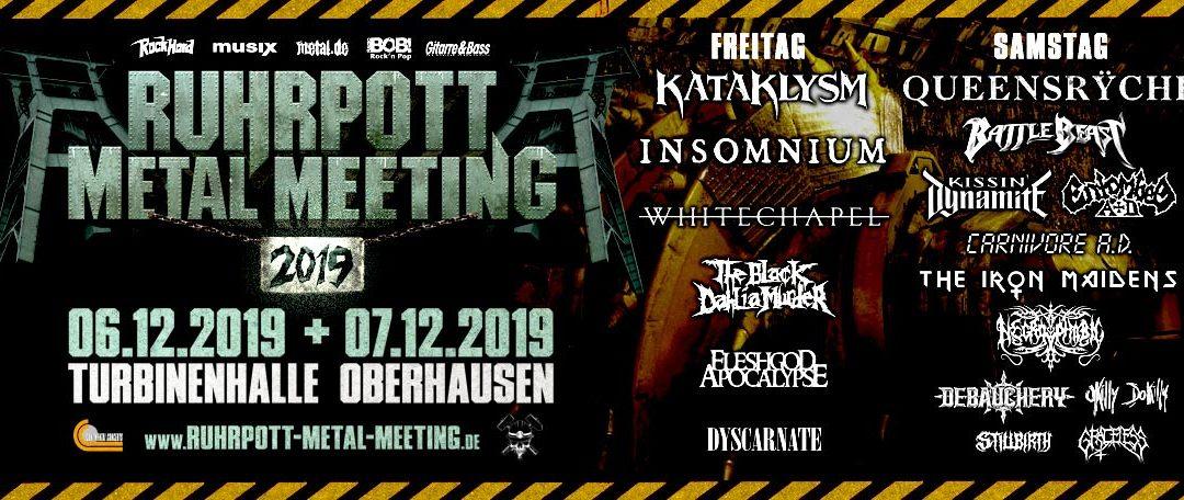 Ruhrpott Metal Meeting/MTV's Headbangers Ball 2019 @ Turbinenhalle – Oberhausen – DE