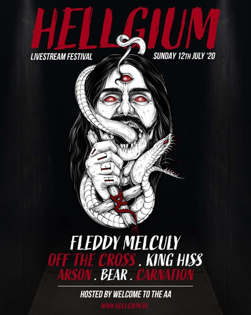 Hellgium line-up 12-07-2020