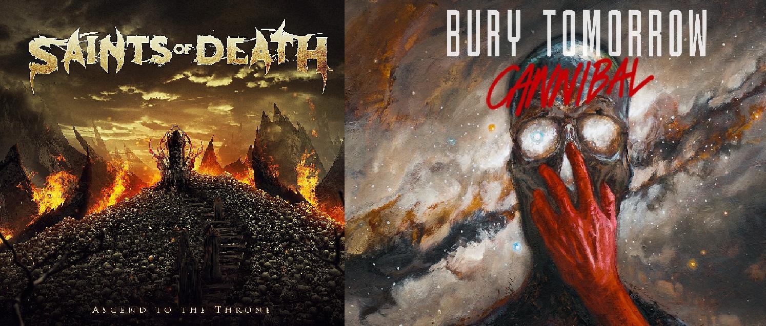 Albums van de week 26 & 27: Bury Tomorrow & Saints of Death