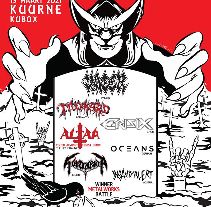 Metalworksfest XL: Pestilence maakt plaats voor Tankard en Insanity Alert