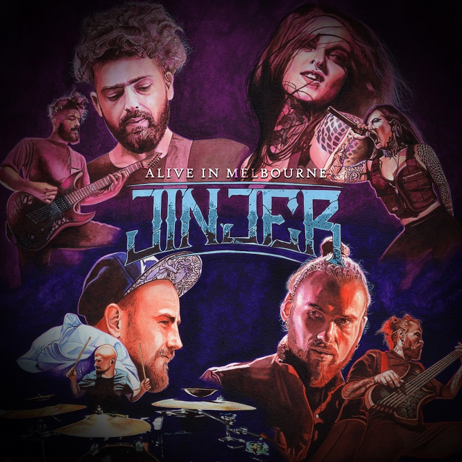 Jinjer – Alive in Melbourne 2020