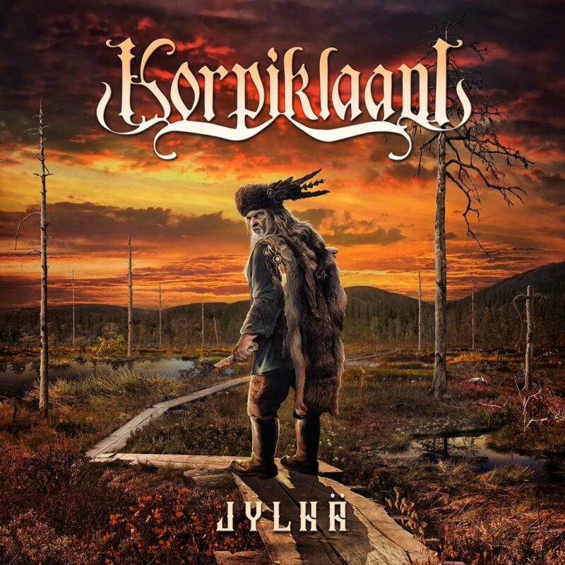 Korpiklaani - Jylhä album cover artwork
