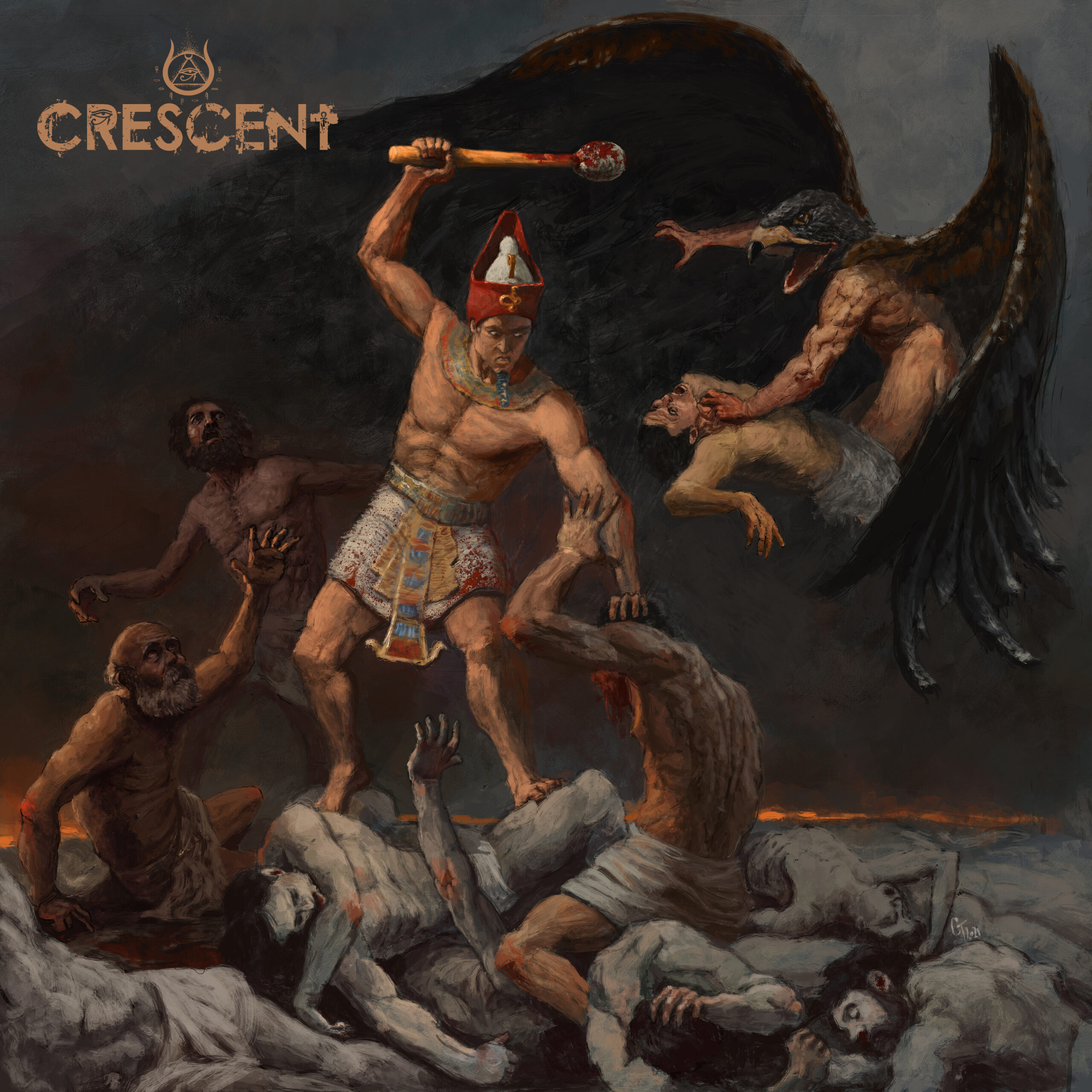 Crescent – Carving The Fires Of Akhet