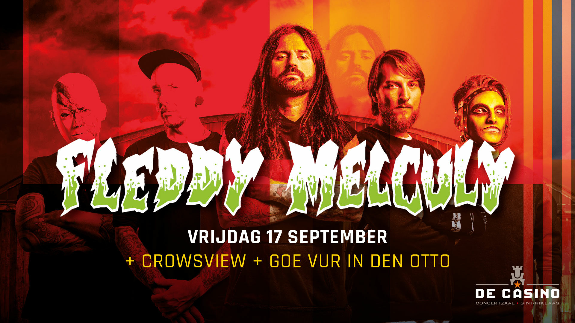 Fleddy Melculy + Crowsview / @ De Casino, Sint-Niklaas / 17-09-2021