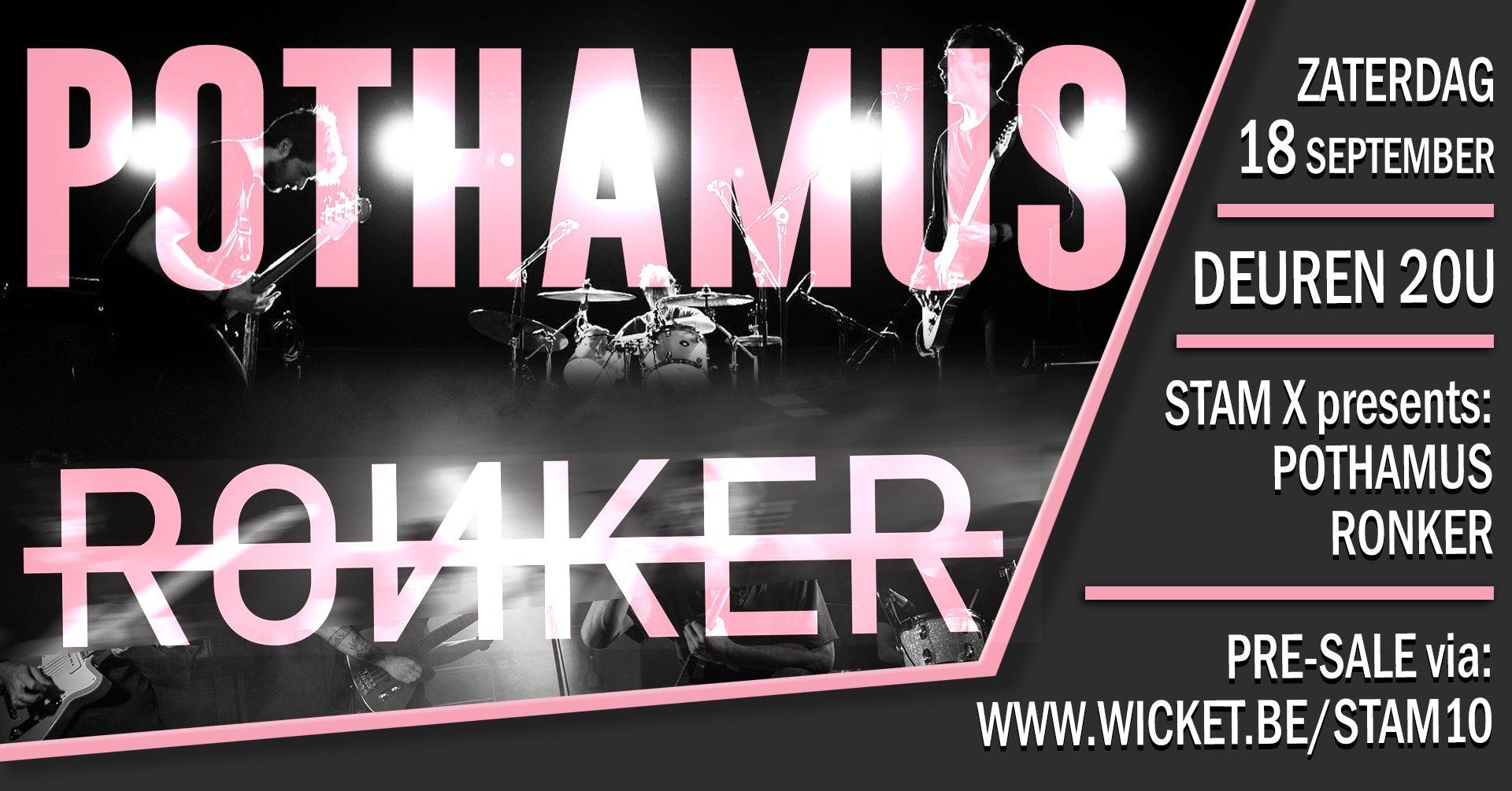 Ronker X Pothamus /  Stam X / 18-09-2021
